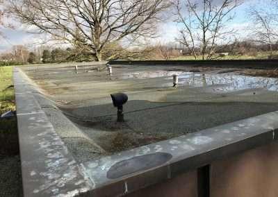 Mos op platte daken - dakontmossing