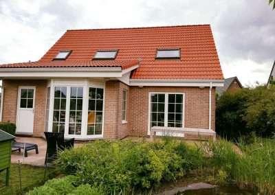 Ontmossen en coating dak - rood - Kortrijk - na