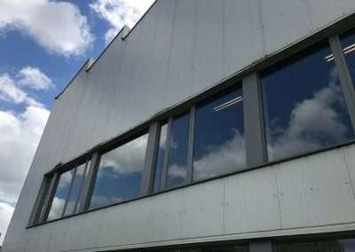 Reiniging van gevel in PVC - Oost-Vlaanderen - voor