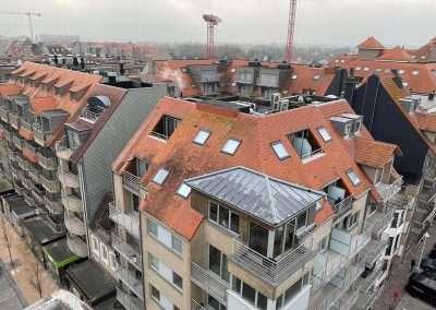 Ontmossen dak nieuwpoort - voor